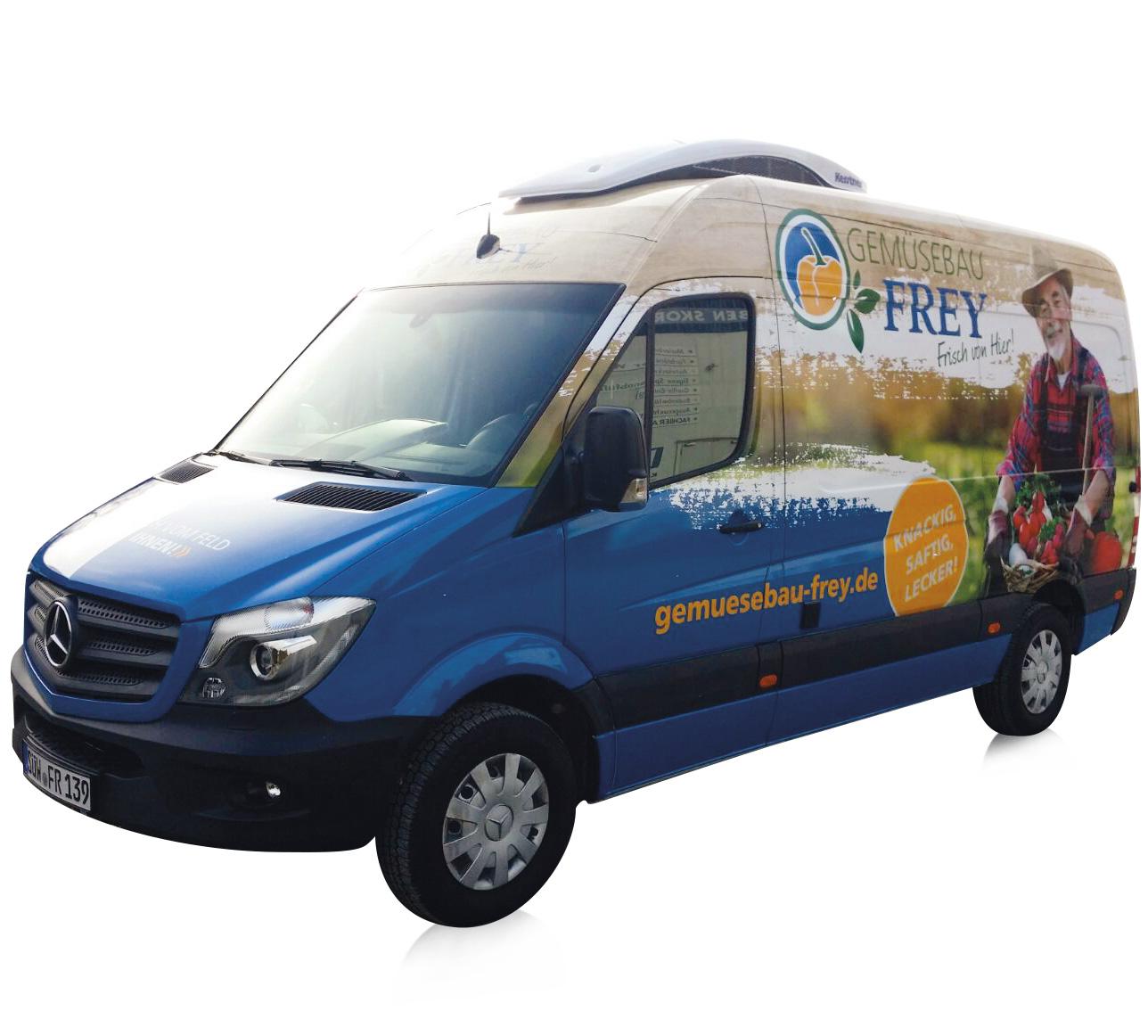 Gemuesebau-Frey-Transporter